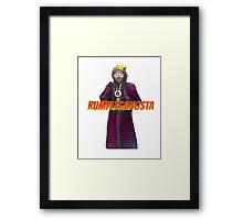 RumpleGangsta Framed Print