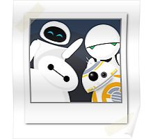 Baymax and Friends Selfie  Poster