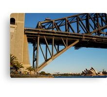 my favourite span Canvas Print