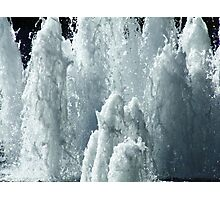 Water Mountains Photographic Print