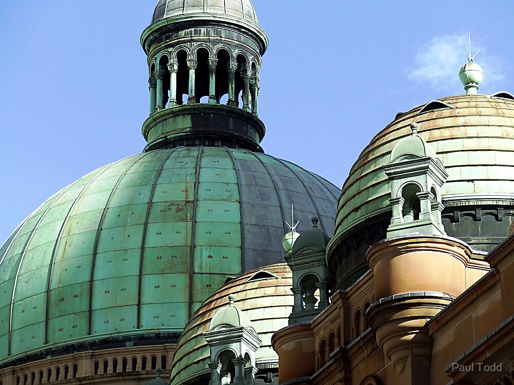 QVB domes by Paul Todd