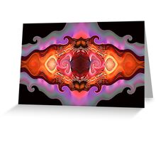 Bat Out Of Hell Greeting Card