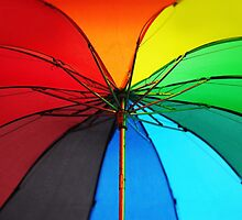 Jenny Rainbow Umbrella. Color your Day by JennyRainbow