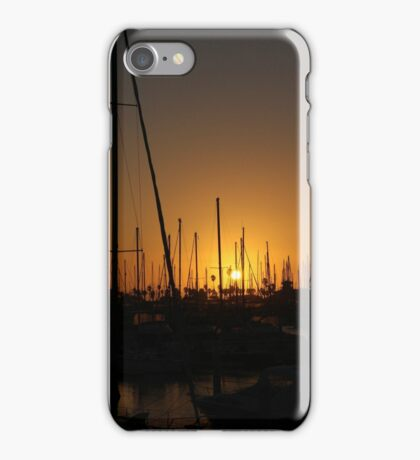 Masts and Palm Trees iPhone Case/Skin