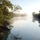 Misty river by AlbertoG