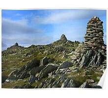 The Lake District: The Cairns of Ill Bell Poster