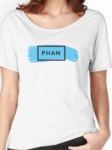PHAN - TRXYE insp. (blue&black) Women's Relaxed Fit T-Shirt
