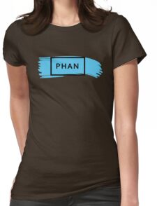 PHAN - TRXYE insp. (blue&black) Womens Fitted T-Shirt