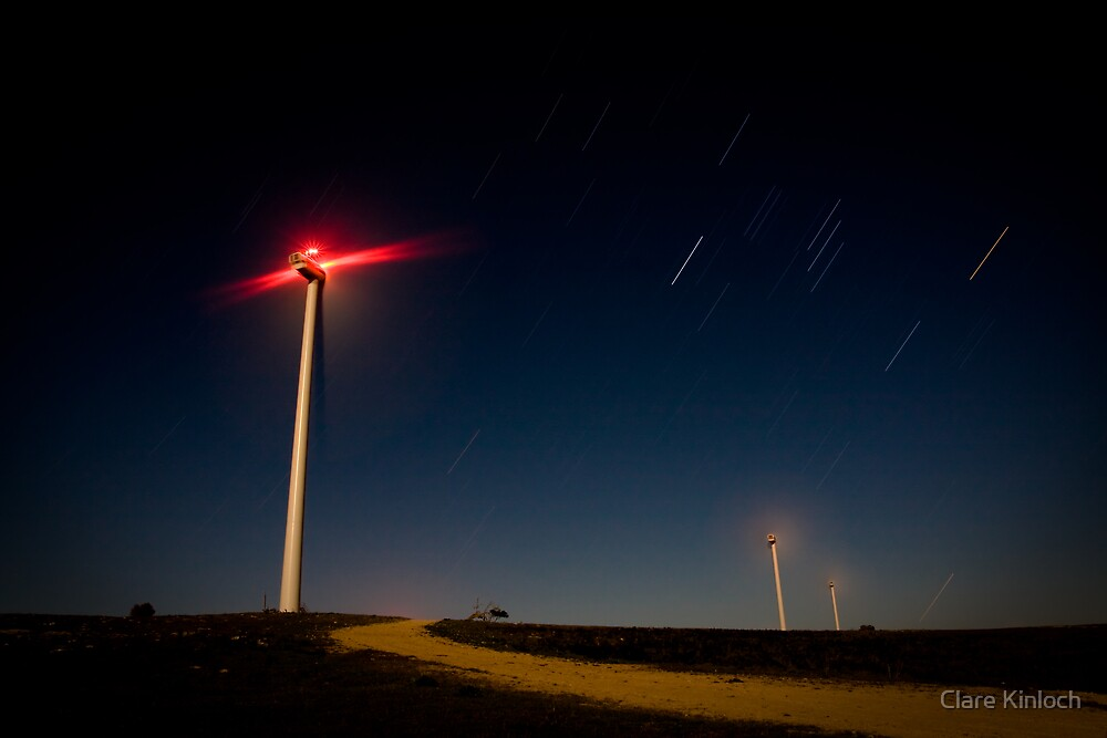 Turbines 2 by Clare Kinloch