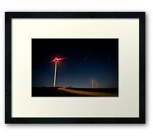 Turbines 2 Framed Print