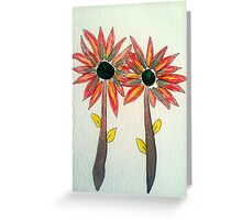 goddess flowers Greeting Card