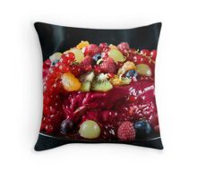 Abundance of fruit Throw Pillow