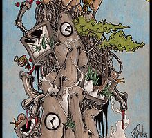 Catatonic Construction by Chris Spencer