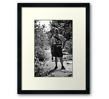 Our Fearless Leader Framed Print