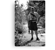 Our Fearless Leader Canvas Print