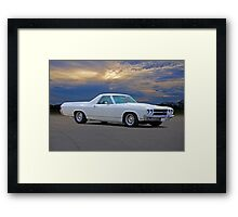 1970 Chevrolet El Camino Framed Print