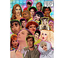 Rpdr Funny queen faces  Photographic Print
