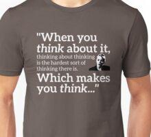 Philomena Cunk: Thinking Unisex T-Shirt