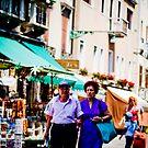 Street Portrait, Venice Italy, #5 by Georgia  Nelson