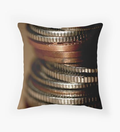 What makes the world go round... Throw Pillow