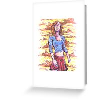 Kara Greeting Card