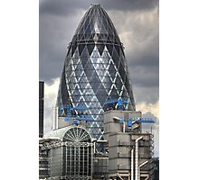 The Gherkin, London Photographic Print