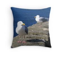 What're You Lookin' At Throw Pillow