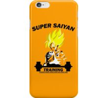 Super Saiyan Training  iPhone Case/Skin