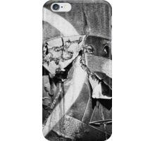 Bw texture iPhone Case/Skin