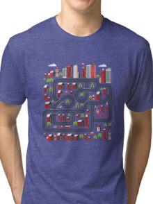 Urban landscape Tri-blend T-Shirt