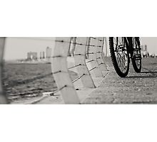bicycles need to relax Photographic Print