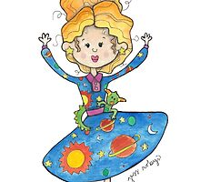 Mrs. Frizzle by Bumble & Bristle