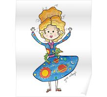 Mrs. Frizzle Poster