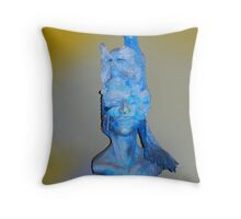 The Masks Throw Pillow