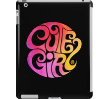 Cute Girl iPad Case/Skin