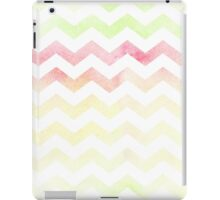Chevron pattern in spring tones. iPad Case/Skin