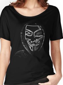 Anonymous vendetta Women's Relaxed Fit T-Shirt