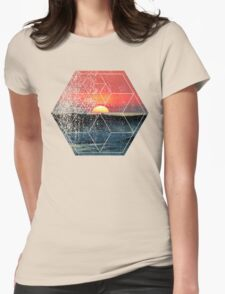 Nature and Geometry - Lovely Sunset at Sea T-Shirt