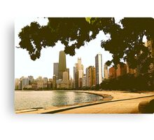 APPEARANCE OF CHICAGO Canvas Print