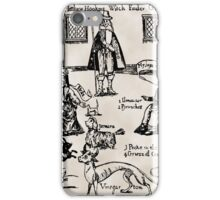 WITCHFINDER GENERAL iPhone Case/Skin