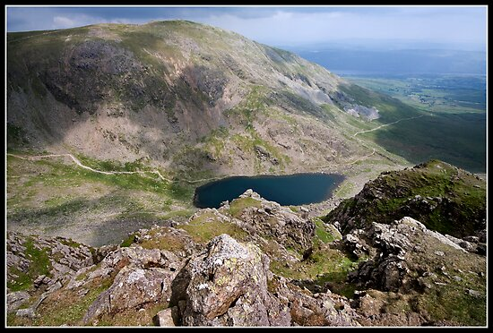 The Old Man of Coniston from Dow Crag by Shaun Whiteman