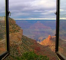 Window to the Canyon by Denise Couturier