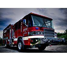 Fairmount Fire Dept. Photographic Print