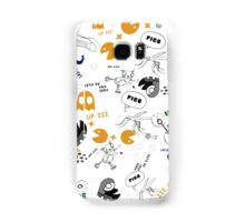 Funky Shapes Samsung Galaxy Case/Skin