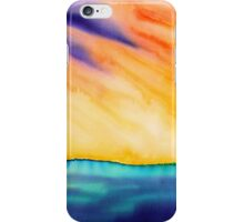 Fire in the Sky iPhone Case/Skin
