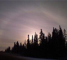 Sundog In North Pole, Alaska by Mikayla