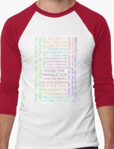 Atlantis BBC Quotes Men's Baseball ¾ T-Shirt