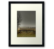 Autumns Pasture Framed Print