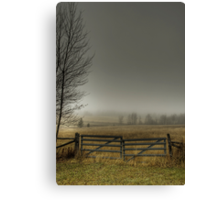 Autumns Pasture Canvas Print
