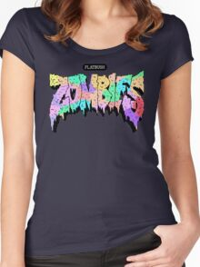 Flatbush ZOMBiES Logo Women's Fitted Scoop T-Shirt